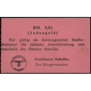 Sokółka, Stadtkasse Sokolka - Der Bürgermeister, Judeng...