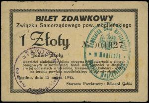 Mogilno, Związek Samorządowy Powiatu Mogileńskiego, 1 z...