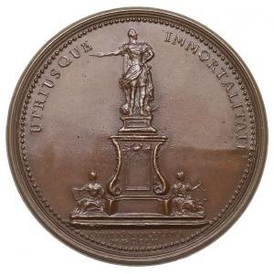 Stanisław Leszczyński - medal sygnowany A.M.SV. z 1755 ...