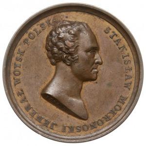 generał Stanisławowi Mokronowskiemu - medal pamiątkowy ...