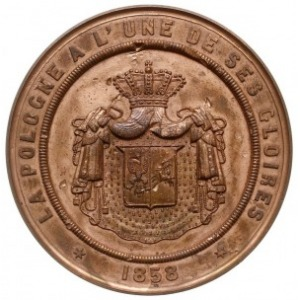 Joachim Lelewel - medal autorstwa Laurenta Harta (medal...
