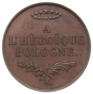 Bohaterskiej Polsce - medal autorstwa Barre'a, wybity n...