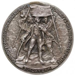 Tadeusz Kościuszko - medal autorstwa Franciszka Kalfasa...