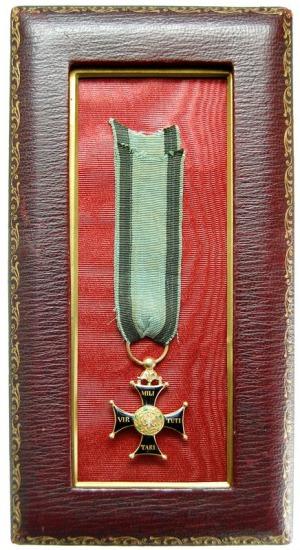 Krzyż Kawalerski Orderu Wojska Polskiego, wykonanie fra...