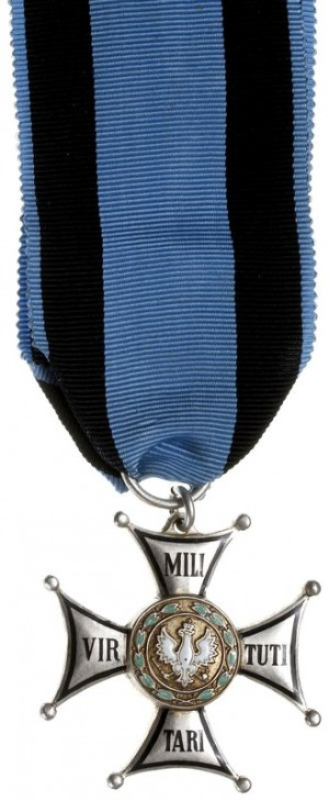 II RP, Krzyż Virtuti Militari, V klasa, wtórnik wykonan...