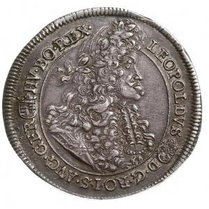 talar 1691 KB, Krzemnica, Aw: Popiersie w prawo, Rw: Or...