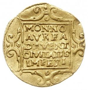 Deventer, dukat 1603, z tytulaturą cesarza Rudolfa II, ...