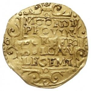 Utrecht, dukat 1645, Purmer Ut24, Delm. 963, złoto 3.46...