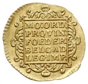 Utrecht, dukat 1742, Purmer Ut25, Delm. 965, złoto 3.45...