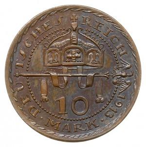10 marek 1913, PRÓBA, projektu Karla Goetz'a, Aw: Popie...