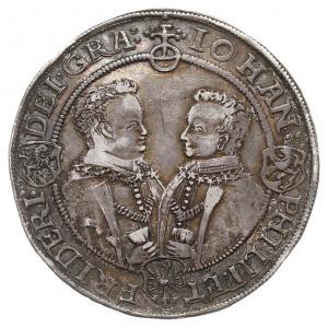 talar, 1608, Saalfeld, Aw: Popiersia Jana Filipa i Fryd...