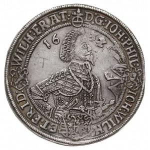talar, 1632, Saalfeld, Dav. 7376, Schnee 290, srebro 28...