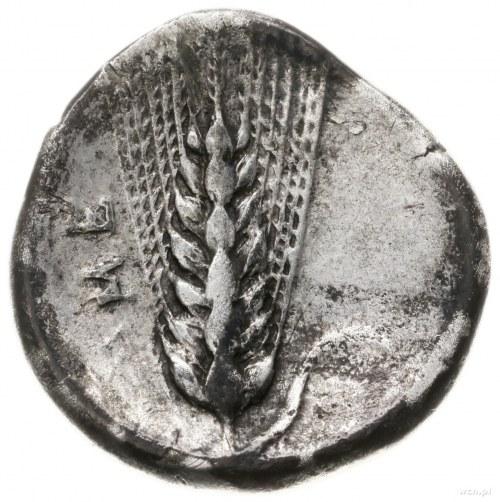 stater, ok. 400-340 pne; Aw: Głowa Demeter w prawo, z w...