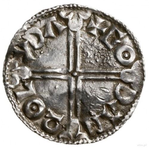 denar typu long cross, 997-1003, mennica Lydford, mince...
