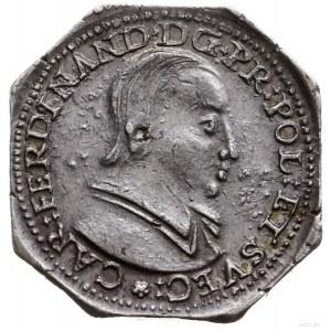 1/2 talara (klipa ośmiokątna) 1632, Nysa; Aw: Popiersie...