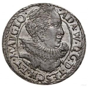 trojak 1592, Cieszyn; mała głowa księcia, bardzo rzadki...