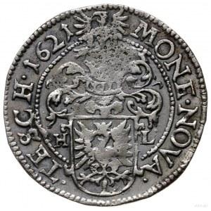 12 krajcarów 1621, Cieszyn; z literami H-L (mincmistrza...