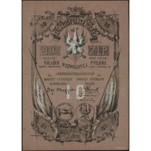 10 złotych polskich, bez daty (1853), seria D, numeracj...