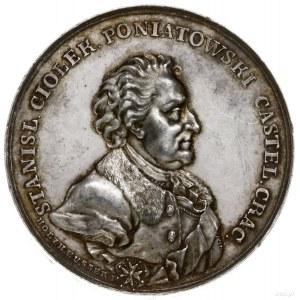medal z lat 1766-1768 na pamiątkę Stanisława Poniatowsk...