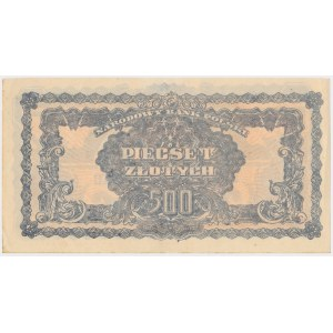 Falsyfikat z epoki 500 złotych 1944 ...owym - AT