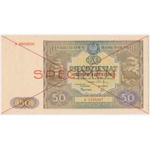 50 złotych 1946 - SPECIMEN - A