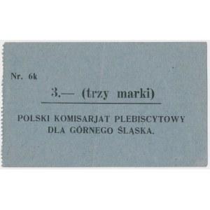 Górny Śląsk, Plebiscyt 3 mk