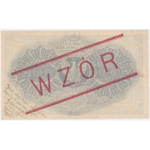 100 mkp 02.1919 - WZÓR - III Ser.A
