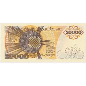 20.000 złotych 1989 - AD