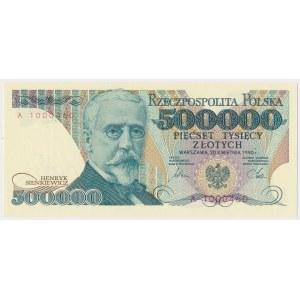 500.000 złotych 1990 - A