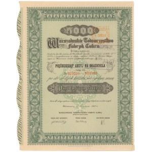 Warszawskie Tow. Fabryk Cukru, Em.3, 50x 100 zł 1937