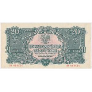 20 złotych 1944 ...owym - BA