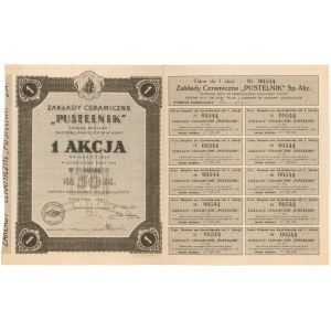 Zakłady Ceramiczne Pustelnik, 50 zł 1927