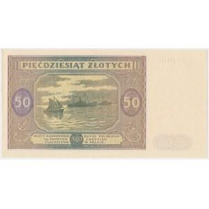 50 złotych 1946 - G - mała litera