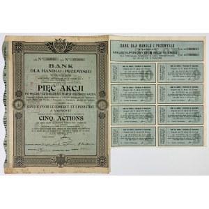 Bank dla Handlu i Przemysłu, Em.7, 5x 540 mkp 1922