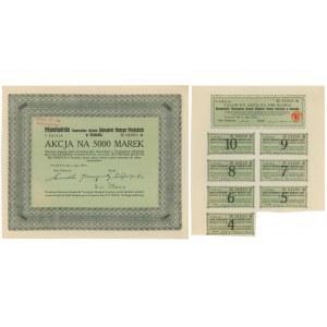 Tow. Akc. Wytwórni Maszyn Młyńskich Młynotwórnia, Em.5, 5.000 mk 1922