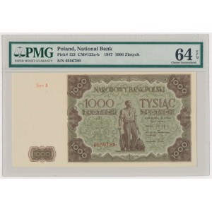 1.000 złotych 1947 - Ser.A - duża litera