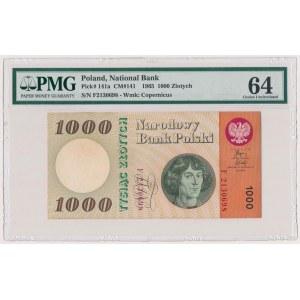 1.000 złotych 1965 - F