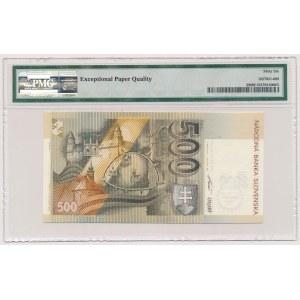 Slovakia, 500 Korun 2000 - Millennium