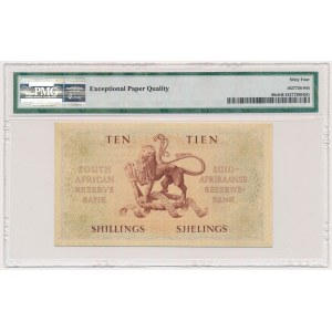 South Africa, 10 Shillings 1957