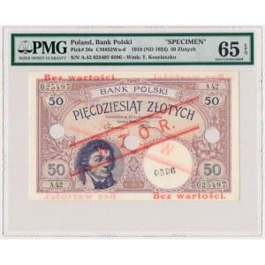 50 złotych 1919 - WZÓR - A.42