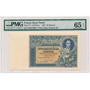 20 złotych 1931 - DK