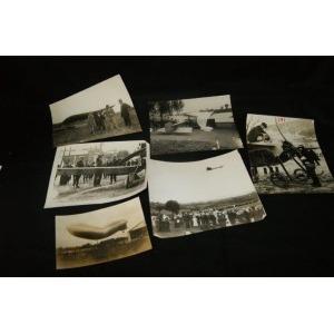 Lot de 6 photographies sur l'Aviation