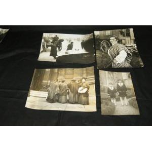 Lot de 20 photographies figurant des Paysans