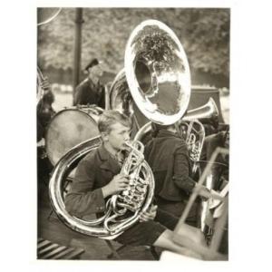 Photographie figurant un Orchestre téchékoslovaque à Londres, 1935