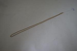 Collier chaine en or 18k . Poids 8, 58 g