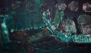 Tadeusz Dominik (1928 Szymanów-2014 Warszawa) - Bez tytułu, 1962