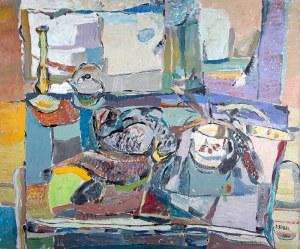 Judyta Sobel (1924 Lwów - 2012 Nowy Jork) - Martwa natura, 1960