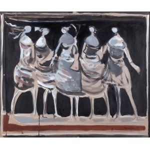 Alfred Aberdam (1894 Lwów – 1963 Paryż) - Tancerki, 1955
