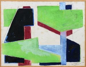 Józef Jarema (1900 Stary Sambor - 1974 Monachium) - Bez tytułu, 1957 r.