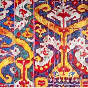 Olga Wolniak (ur. 1957, Ranguan, Birma) - Samarkanda, 2015